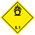 Pictogramme Classe5: Comburant
