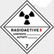 Pictogramme Classe7: Radioactifs